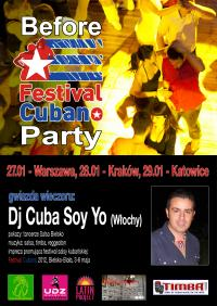 BEFORE... FESTIVAL CUBANO 2012 z Latin Project !