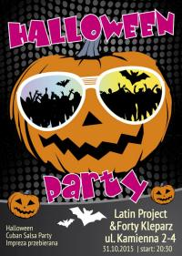 31-10-2015 Halloween Cuban Salsa Party